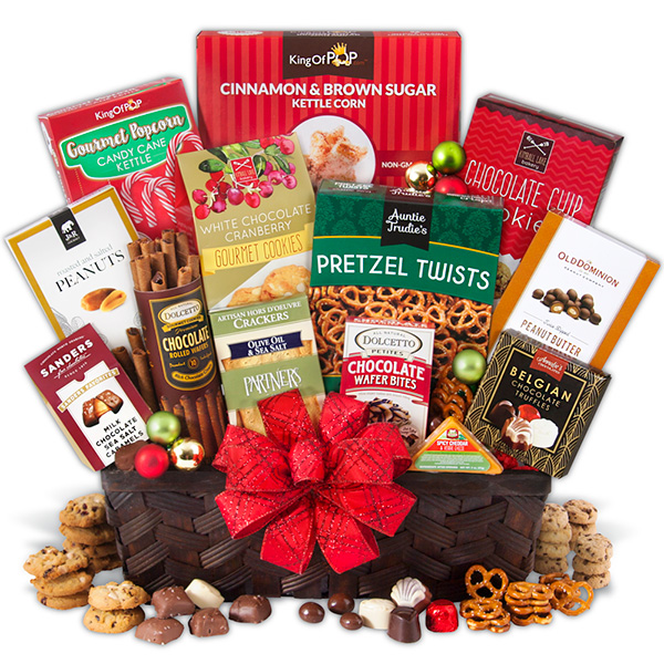 Christmas gift baskets for seniors